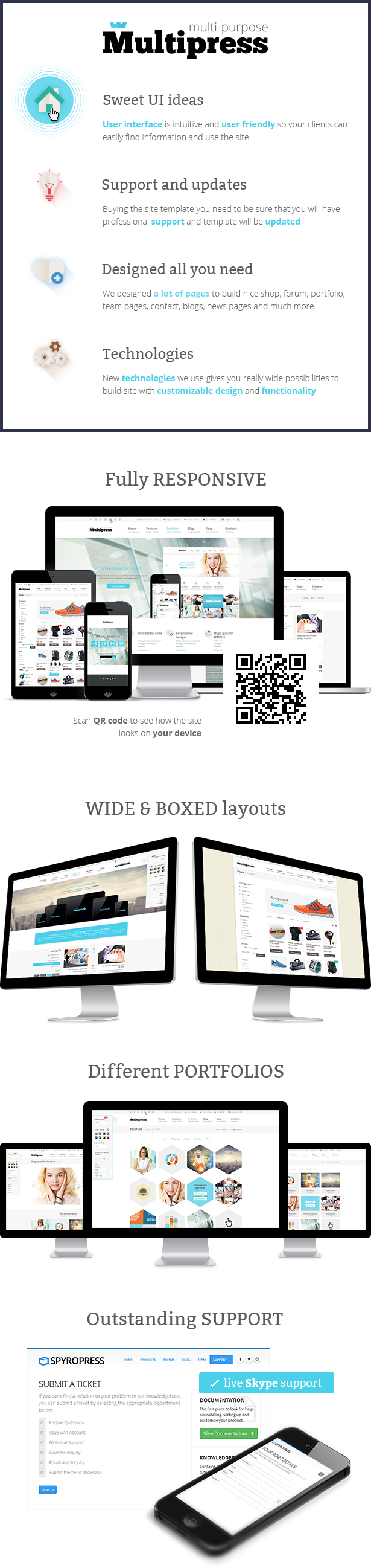 Multipress - Responsive HTML5 Template - 9