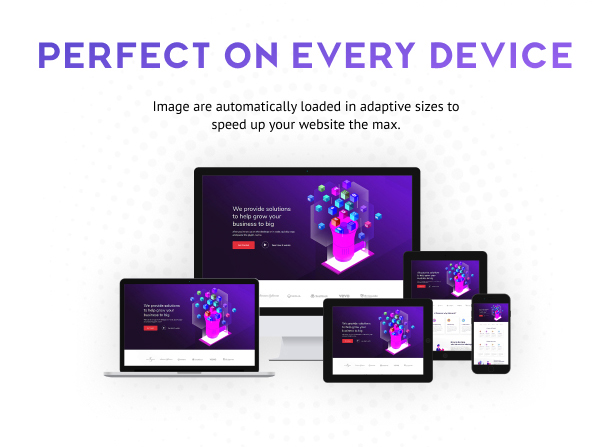 Perfect for Any Devices - Layouts for Elementor Pro