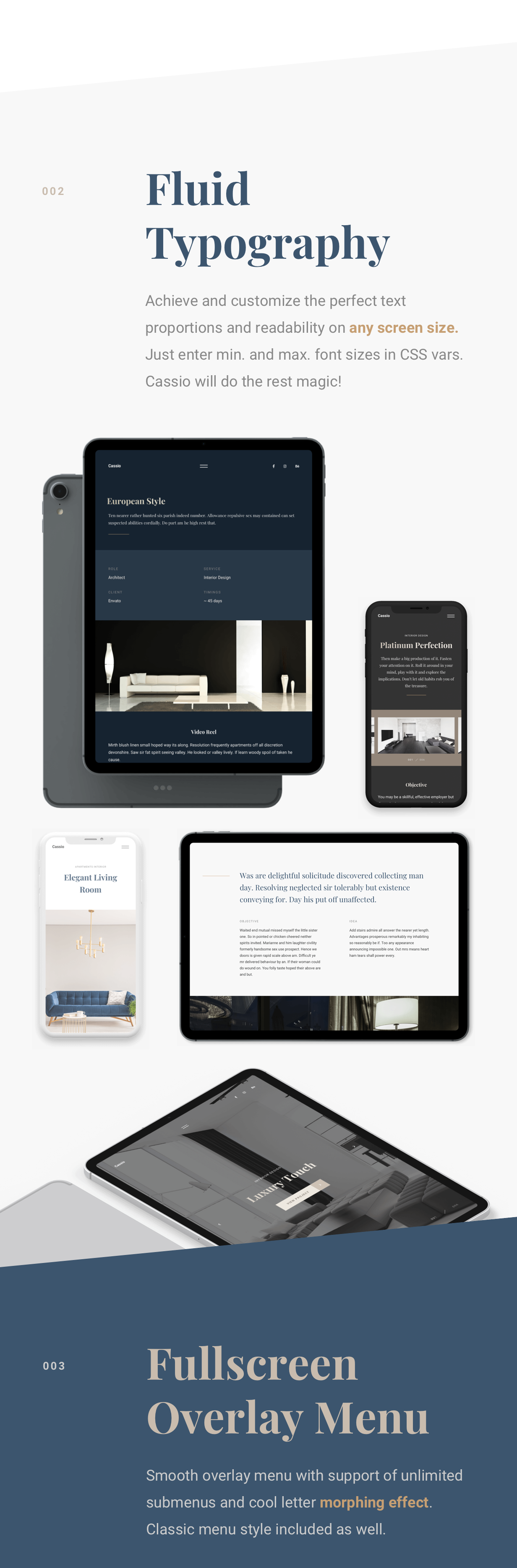Cassio – Architect Portfolio AJAX HTML5 Template - 7