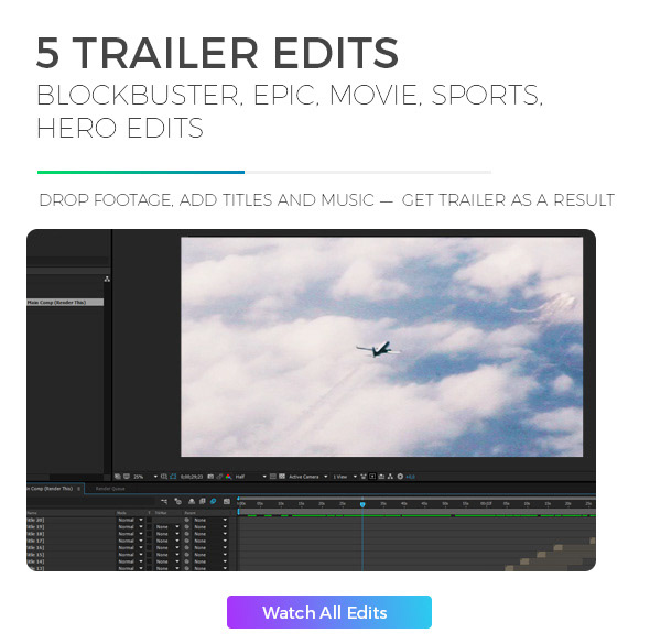 Trailer Mega Toolkit After Effects - 1