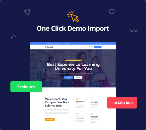 Edukul | Education LMS & Courses WordPress Theme - 8