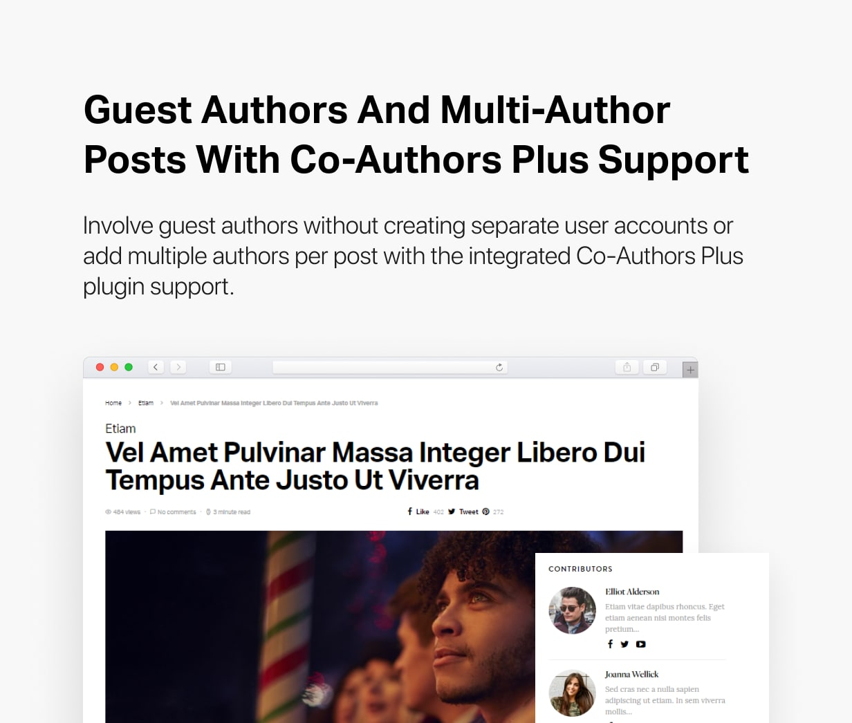 Spotlight - Feature-Packed News & Magazine WordPress Theme - 35