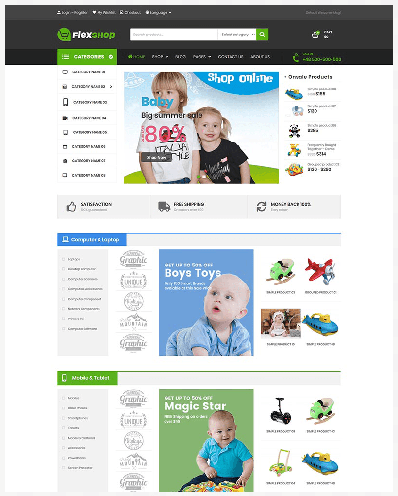 VG Flexshop - Multipurpose Responsive WooCommerce Theme - 12