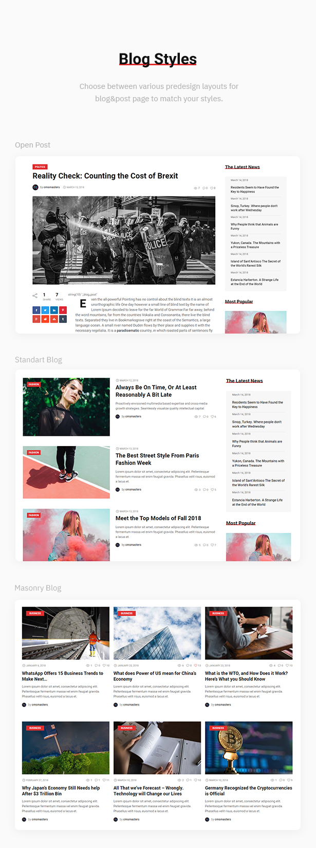 Magazilla - News & Magazine Theme