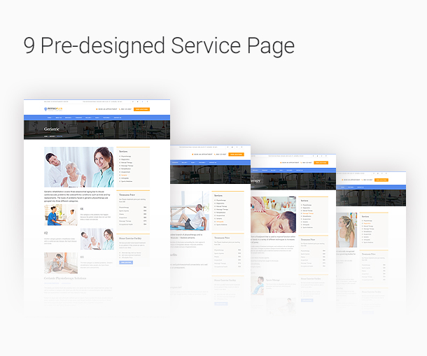 Redesign Medical pages