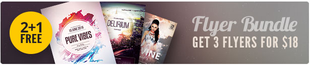 Party Flyer Bundle Vol29
