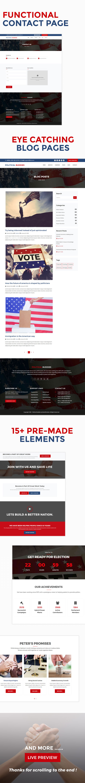 Political Buddies - Election Campaign & Activism HTML5 Template