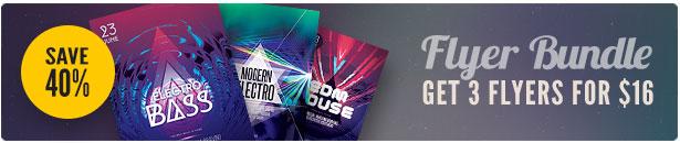 Electro Flyer Bundle Vol.05