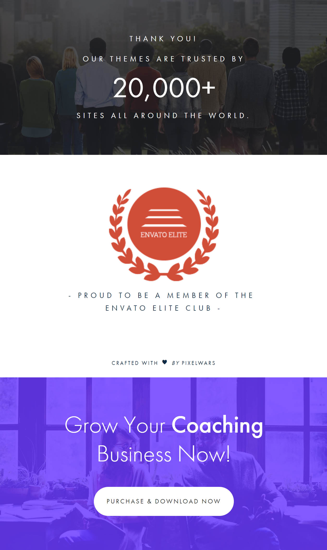 coaching theme by pixelwars - efor wordpress coaching theme for coaches