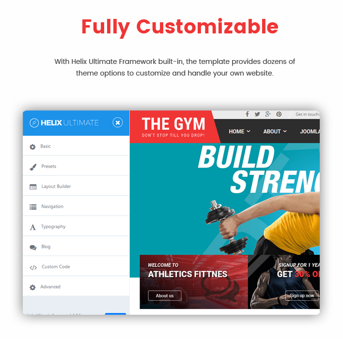 TheGym - Yoga, Fitness & Accessories Shop Joomla Template - 5