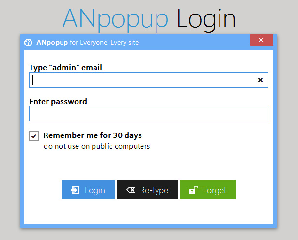 ANpopup: Awesome Newsletter Popup for Everyone - 17