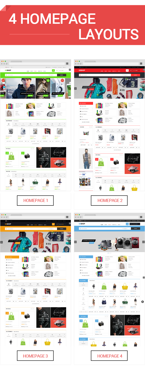 G3shop - Homepage