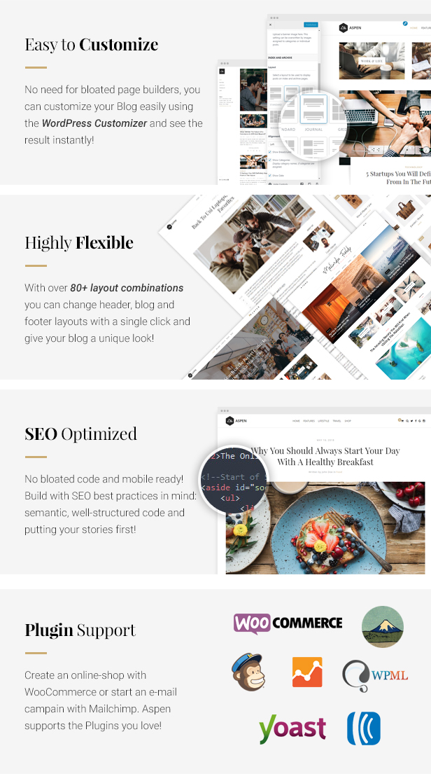 Aspen - WordPress Blog Theme by ShapingRain | ThemeForest