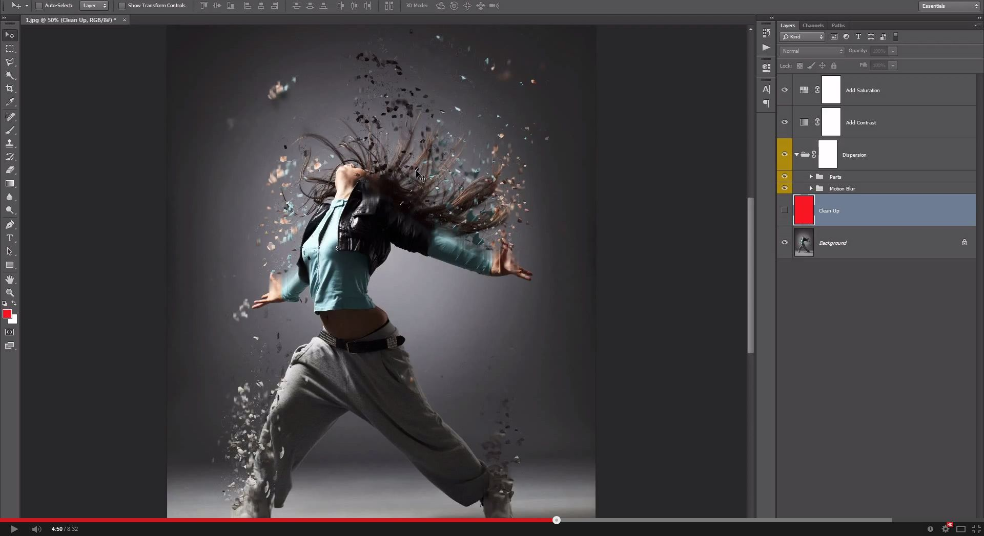 Dispersion photoshop action by sevenstyles graphicriver dispersion photoshop action baditri Images