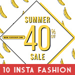 Instagram Fashion Banner Bundle - 22