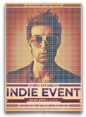 Indie Electronic Flyer/Poster - 40