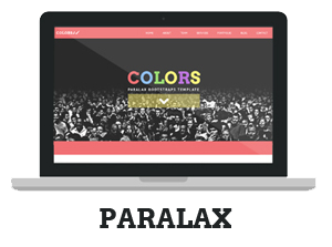 Colors - Paralax Bootstrap HTML5 Template - 7