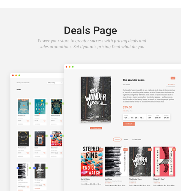 Livre - WooCommerce Theme For Book Store - 13