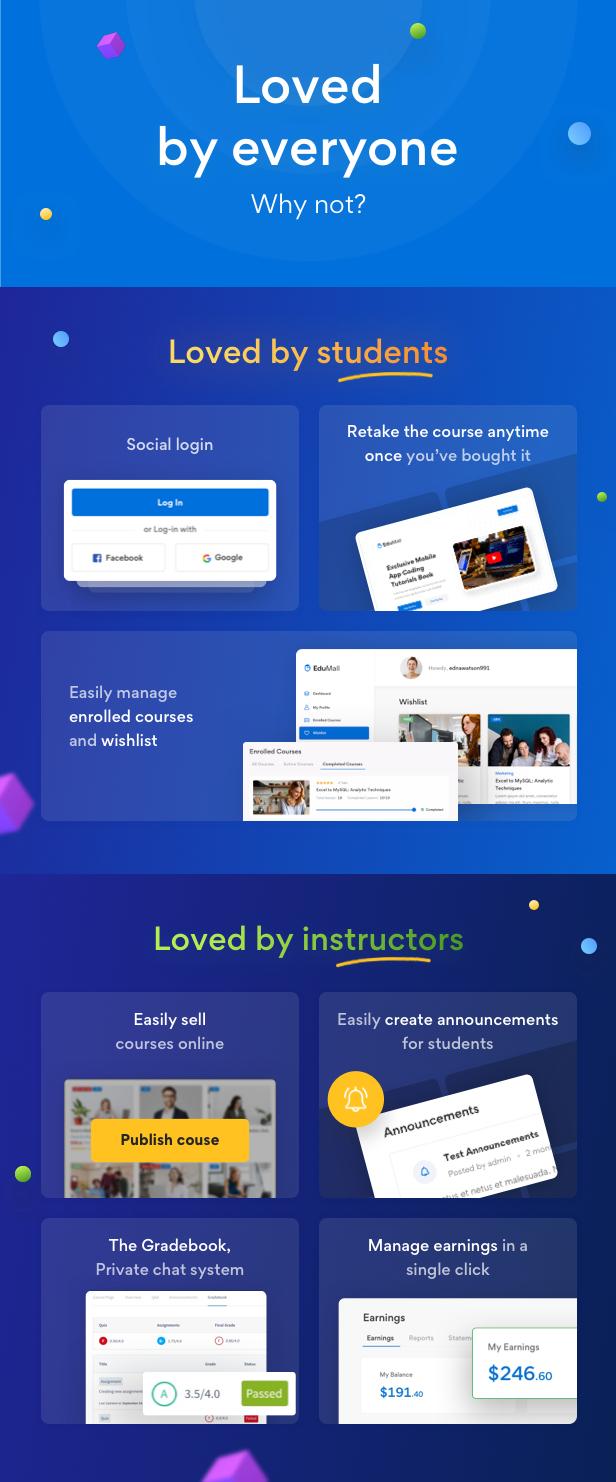 EduMall - Professional LMS Education Center WordPress Theme - 42