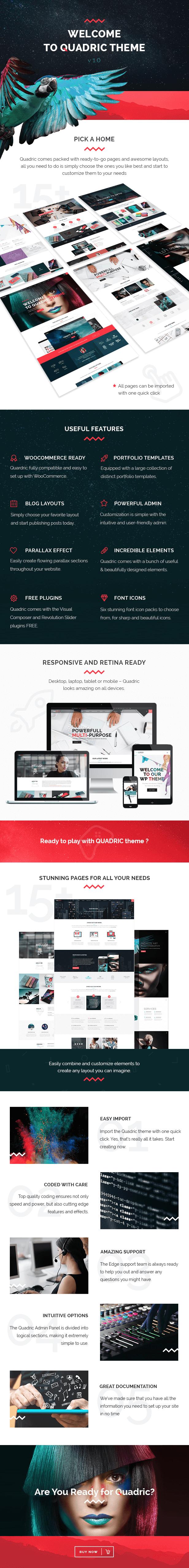 Quadric - Modern Creative Agency Theme - 1