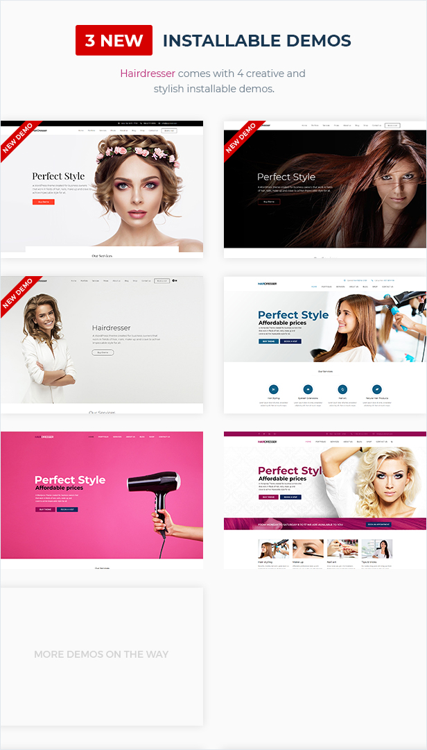 Hairdresser - Hair Salon WordPress theme - 2