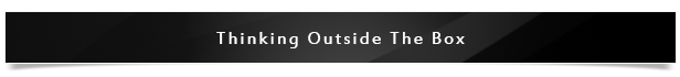 Thinking Outside The Box Project Name
