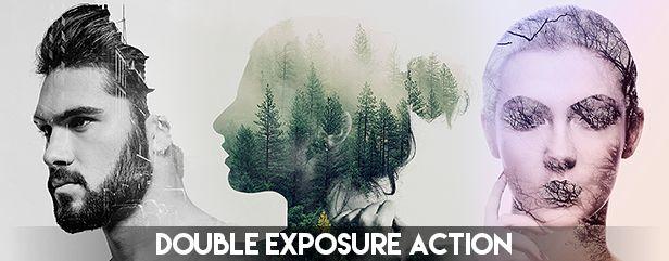 Double Exposure Photoshop Action - 54