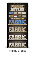 Fabric photoshop text effect styles