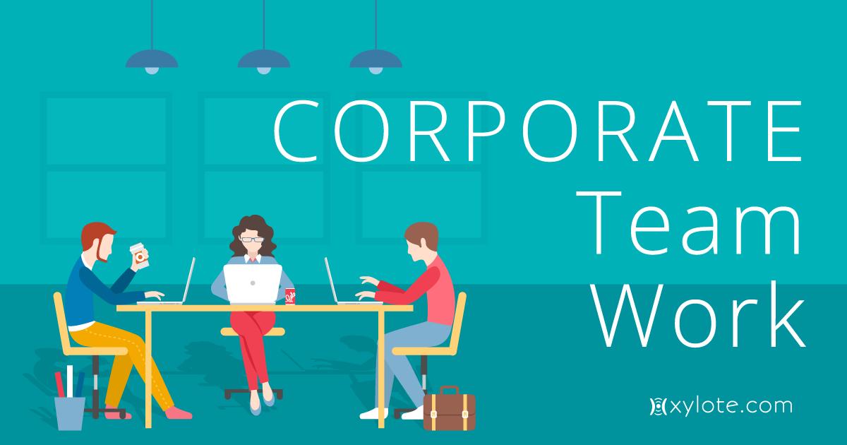 Corporate Team Work