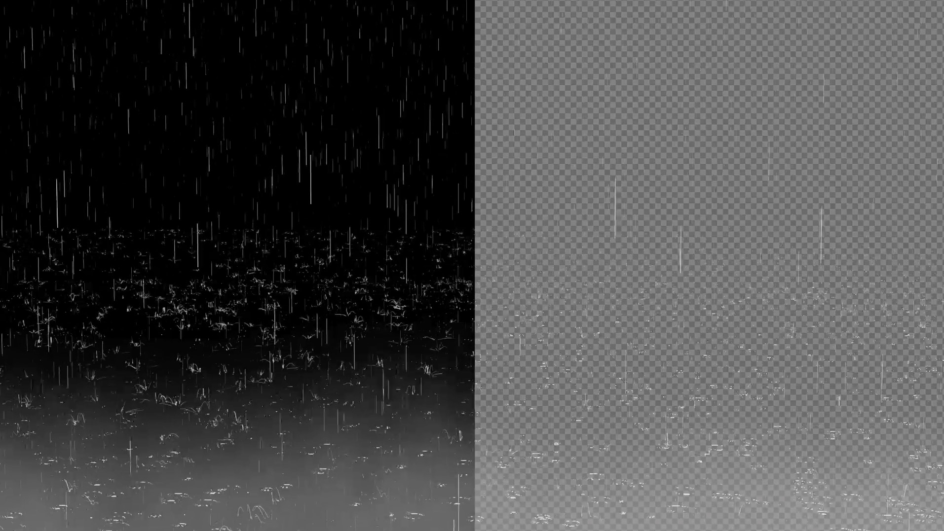 Rain or Real Rain effect