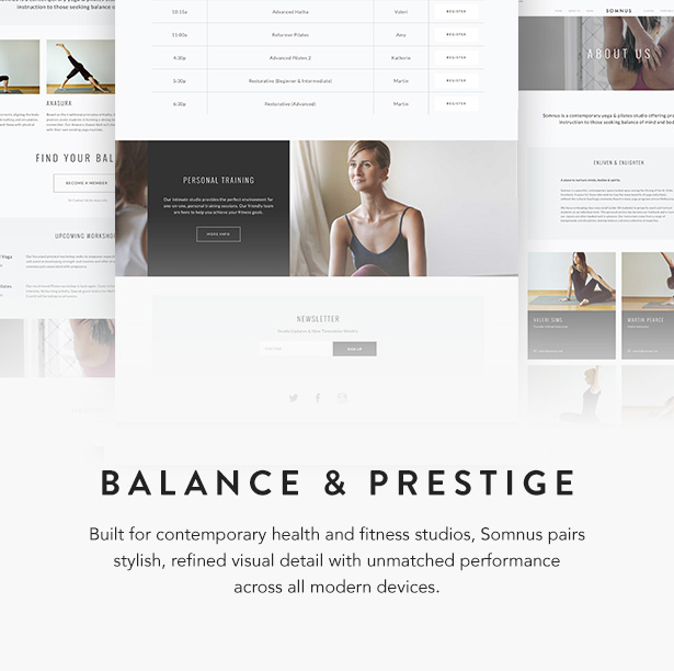 somnus wordpress theme
