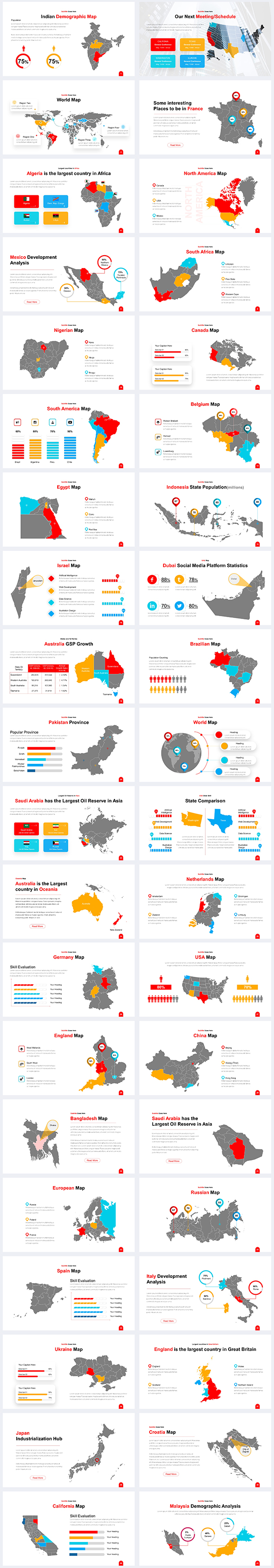 Maps-Infographic-Power-Point-Template
