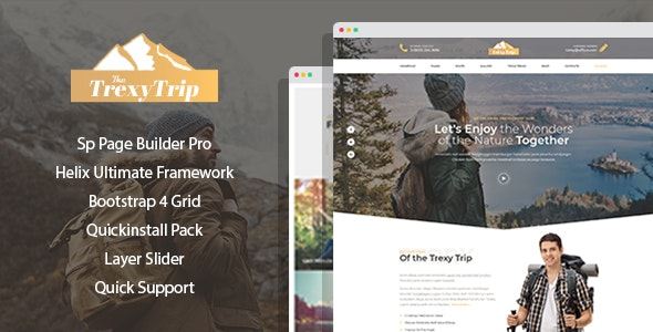 Mountis - Hiking And Outdoor Club Joomla Template with Page Builder - Joomla CMS Themes