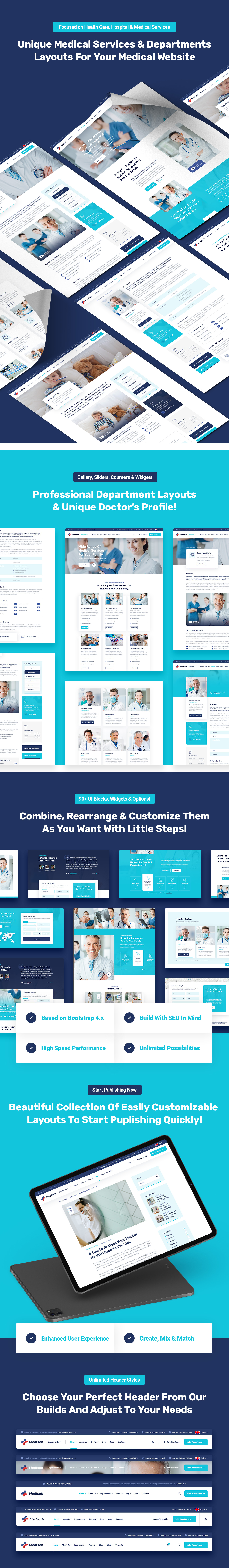 Medisch - Plantilla HTML5 médica y de salud - 2