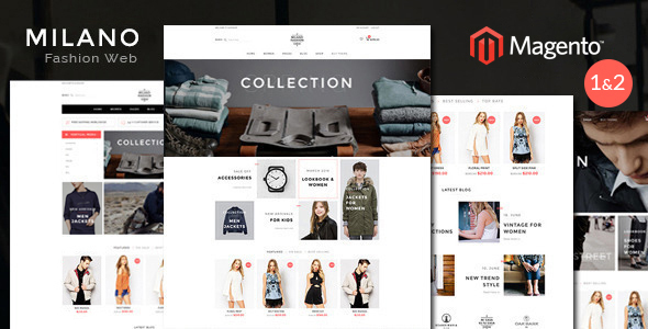 Milano - Fashion Responsive Magento Theme - Fashion Magento