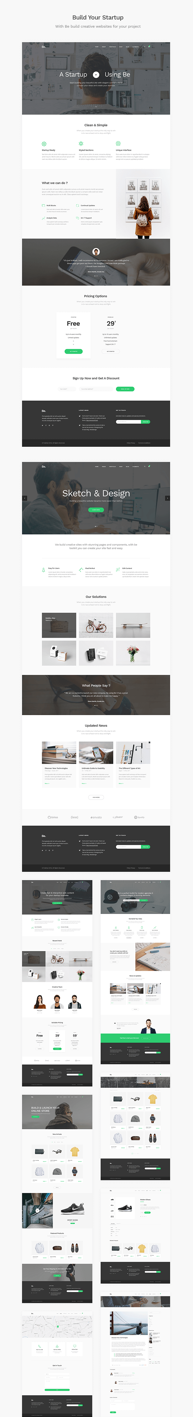 Be - Startup Business HTML Template - 3