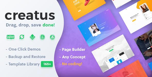 Creatus WordPress Theme Portfolio Extension