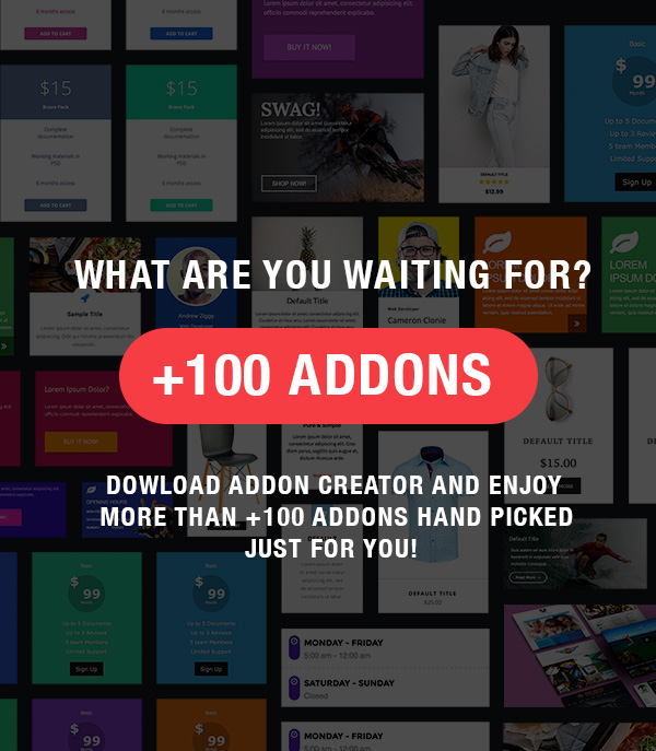 Addon Creator for WPBakery Page Builder - 1