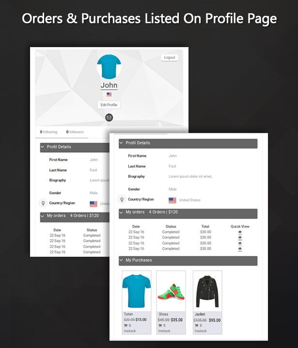 WooCommerce integration for UserPro - 5