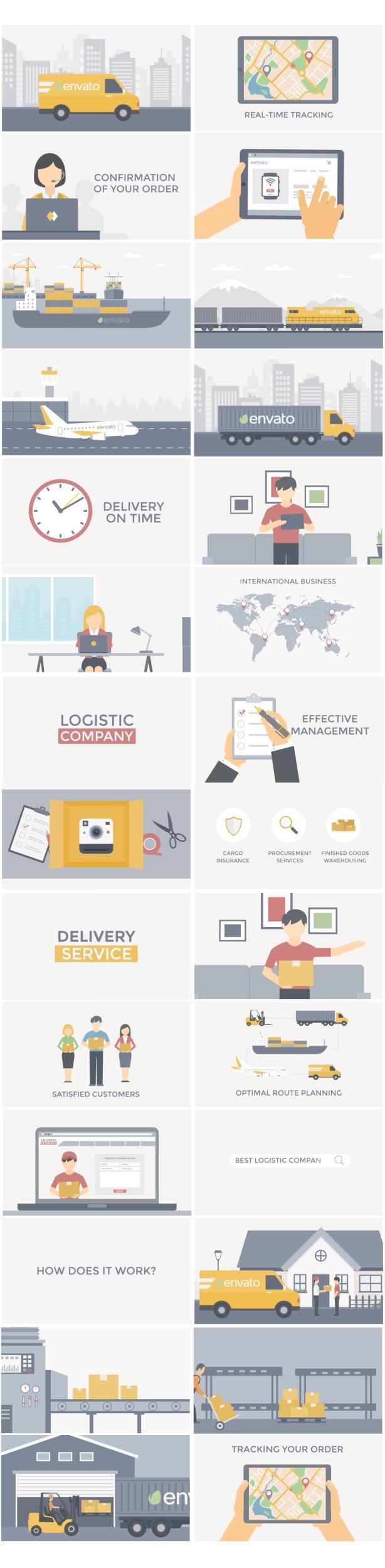 Logistics Delivery Promo - 3