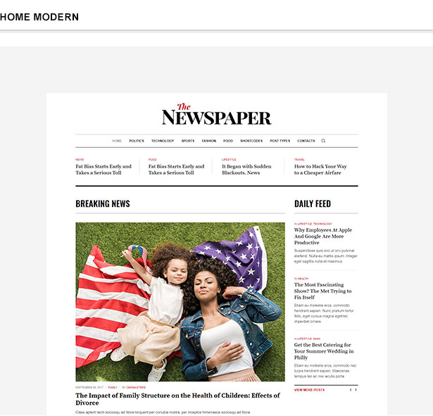 The Newspaper - News Magazine Editorial WordPress Theme - wordpress, themeforest, blog-magazine