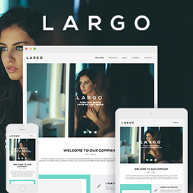 Lapel - One Page & Multi Page Muse Template - 5