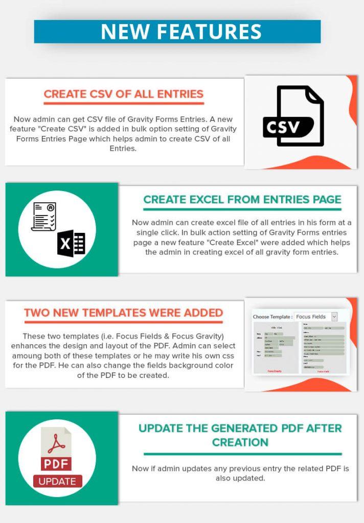 WordPress Gravity Forms PDF, Excel & CSV - 5