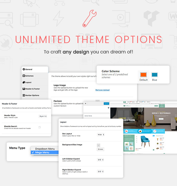 Responsive Furniture WooCommerce WordPress Theme - Features