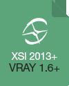 Softimage 2013 (VRay 1.6)