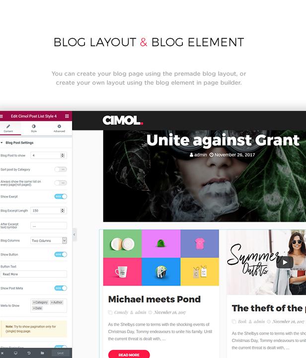 Cimol - Responsive One Page & Multi Page Portfolio Theme - 2