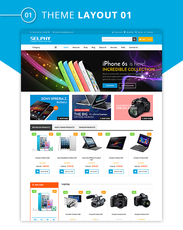 Vg Selphy Responsive Woocommerce Wordpress Theme By Vinawebsolutions