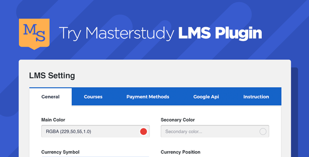 Masterstudy WP - LMS WordPress Theme for Education, eLearning and Online Courses - 1