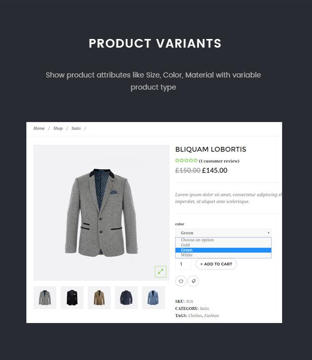 Oxelar - Fashion Responsive WordPress Theme 30
