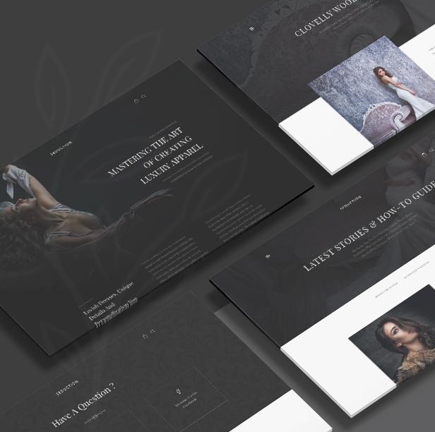 Turez - Luxury Bridal WooCommerce Theme - 1